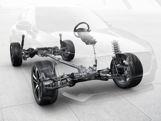 подвеска и трансмиссия Borgward BX5