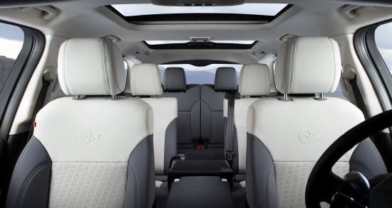 интерьер салона Land Rover Discovery 5 SVX