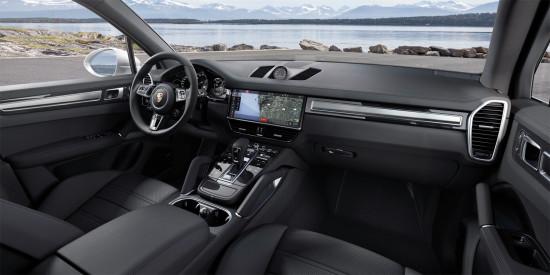 интерьер салона Porsche Cayenne 3 Turbo