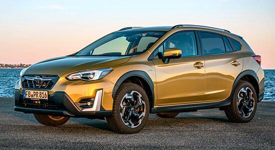 Subaru XV (2020-2021) на IronHorse.ru ©
