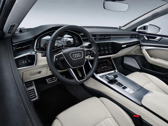 Audi A7 Sportback (2017-2018) цена и характеристики, фотографии и обзор