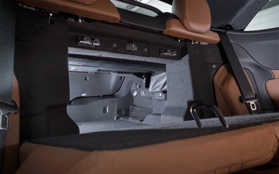 багажник (трансформация спинки заднего дивана)