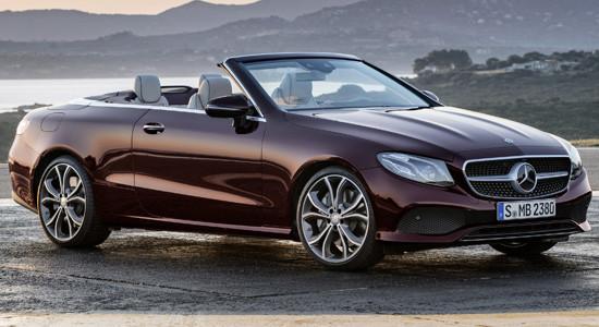 Mercedes-Benz E-Class Cabrio (%year%)