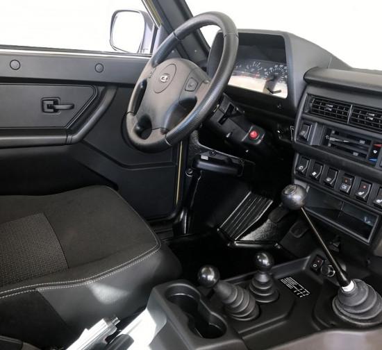 интерьер салона Lada 4x4 Bronto