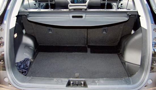 багажное отделение Lifan X70