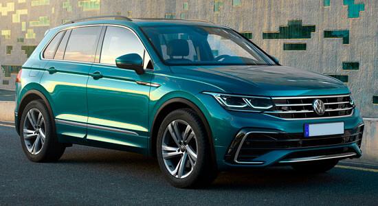 Volkswagen Tiguan 2 (2020-2021) на IronHorse.ru ©