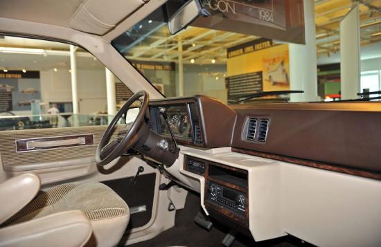 интерьер салона Chrysler Voyager I