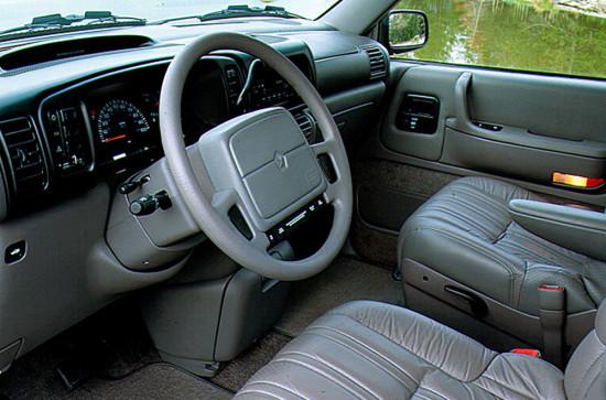 интерьер салона Chrysler Voyager II