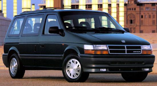 Chrysler Voyager 2 (1991-1995) на IronHorse.ru ©