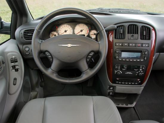 интерьер салона Chrysler Voyager 4