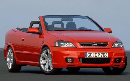 кабриолет Opel Astra G OPC (2002-2004)