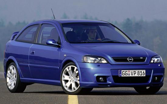 хэтчбек Opel Astra G OPC (2002-2004)