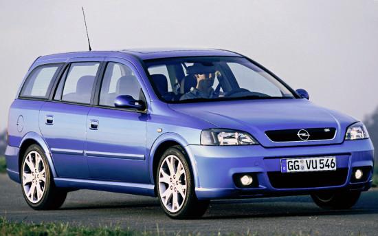 универсал Opel Astra G OPC (2002-2004)
