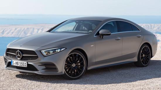Четырёхдверное купе Mercedes-Benz CLS