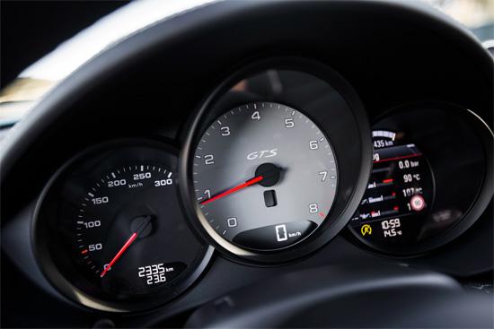 приборная панель Porsche 718 Cayman GTS
