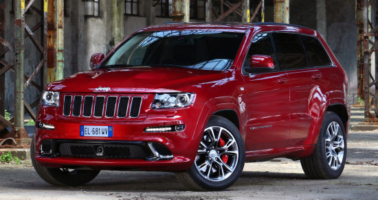 Jeep Grand Cherokee SRT8 2011-2012