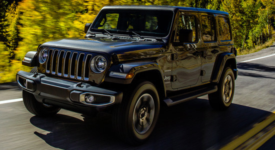 Jeep Wrangler Unlimited (2017-2018, JL) на IronHorse.ru ©