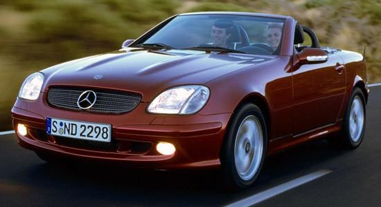 Mercedes-Benz SLK (1996-2004) на IronHorse.ru ©