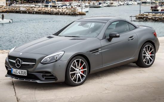 Динамичный Mercedes-AMG SLC