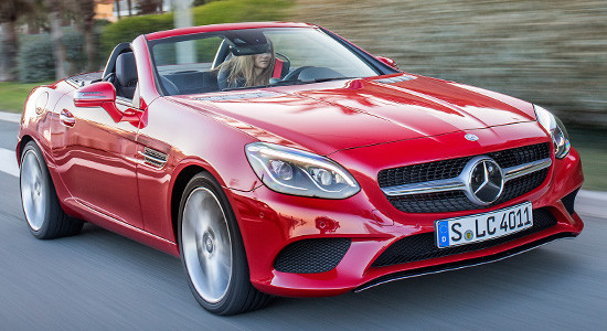 Mercedes-Benz SLC (2020-2021) на IronHorse.ru ©