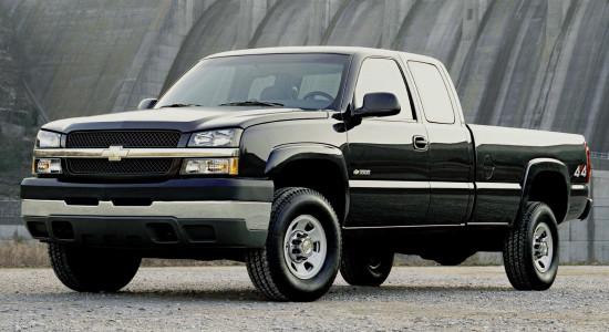 Chevrolet Silverado (1998–2007) на IronHorse.ru ©