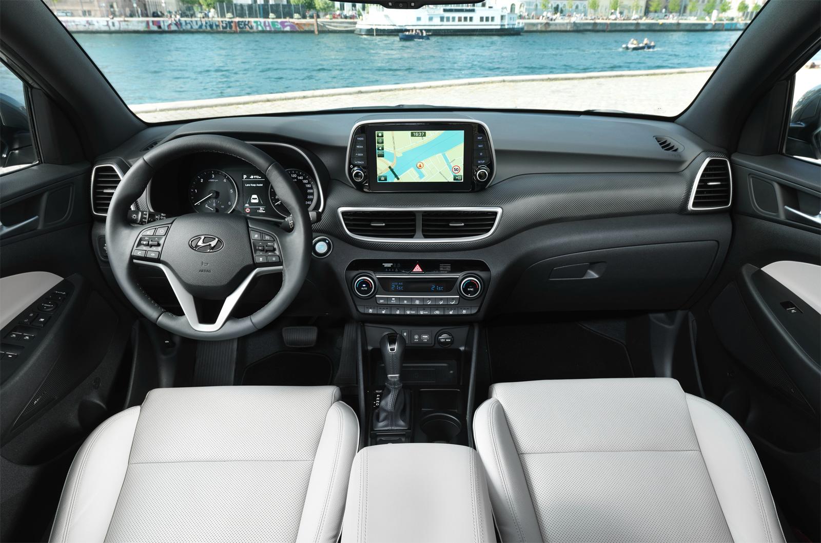Hyundai Tucson 3 (2020-2021) цена и характеристики, фотографии и обзор