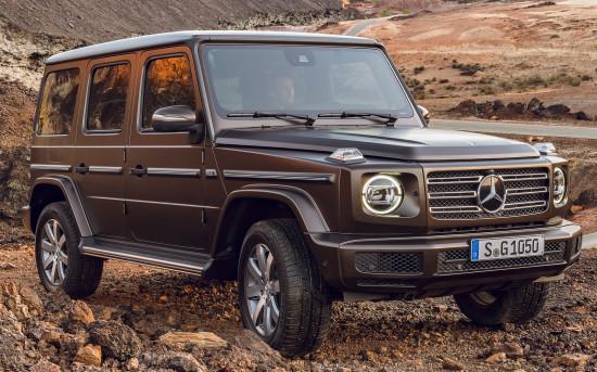 «Третий» Mercedes-Benz G-class