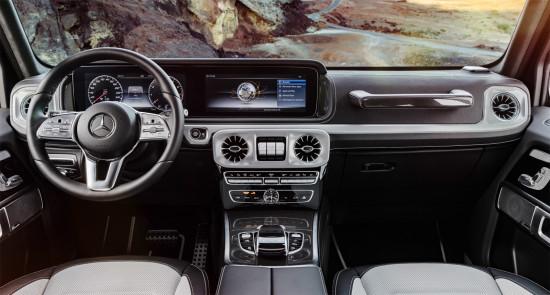 интерьер салона Mercedes-Benz G-class W464