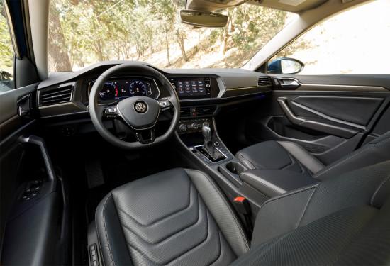 интерьер салона VW Jetta 7