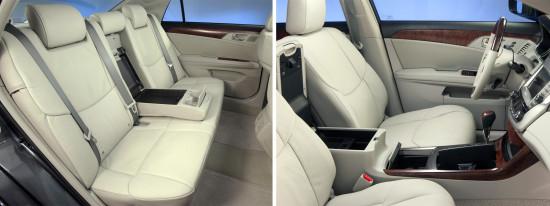 интерьер салона Toyota Avalon 3-го поколения