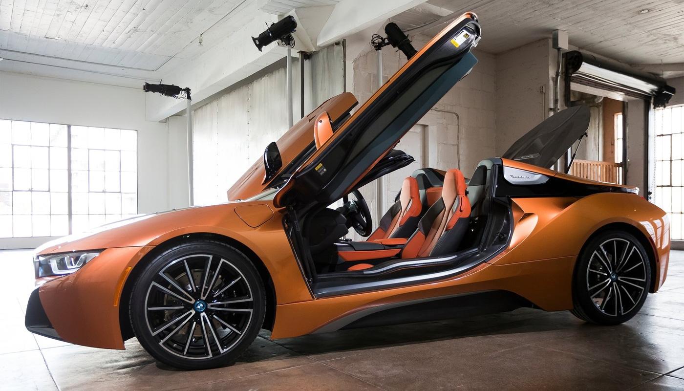 BMW i8 Spyder 2019 - фото, характеристика, цена новые фото