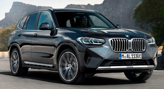 BMW X3 (G01, 2021-2022) на IronHorse.ru ©