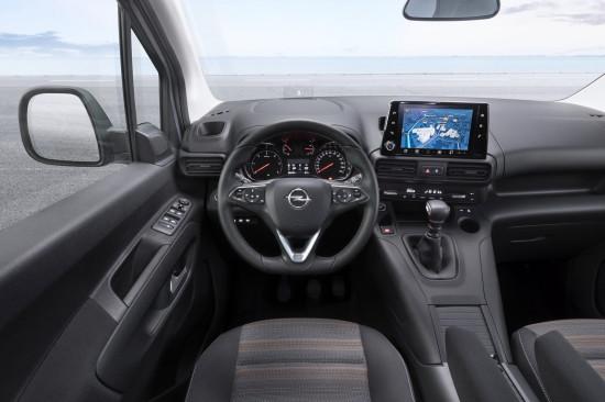 интерьер салона Opel Combo E Life