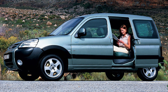 Peugeot Partner (1996–2008) на IronHorse.ru ©