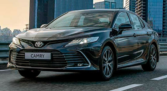Toyota Camry (XV70, 2018-2021) на IronHorse.ru ©