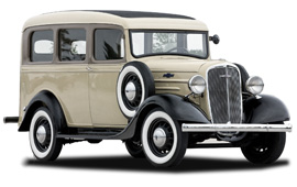 Chevrolet Carryall Suburban 1935