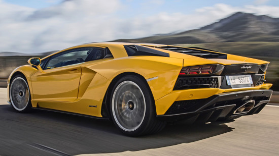 Lamborghini Aventador LP 740-4S Coupe