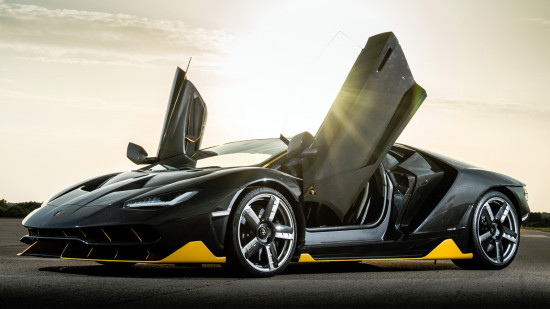 купе Lamborghini Centenario