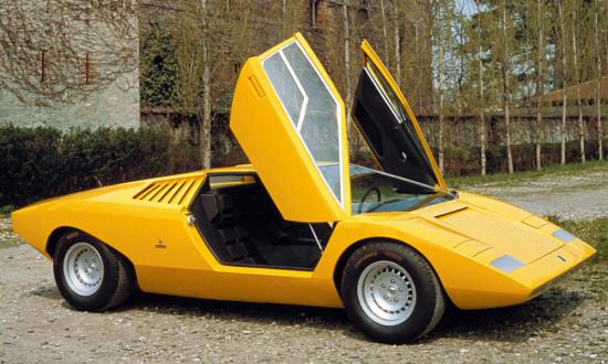 прототип LP500 1971 года