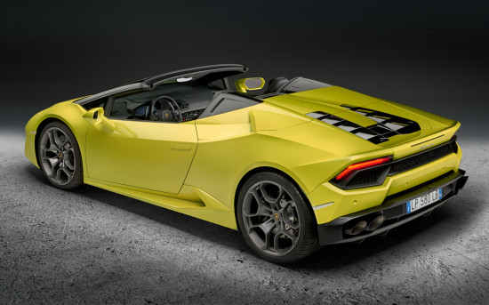 Lamborghini Huracan Spyder LB724