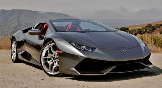 Lamborghini Huracan Spyder на IronHorse.ru ©
