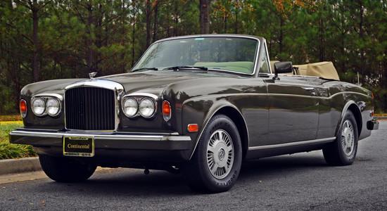 Bentley Continental (1984-1995) на IronHorse.ru ©