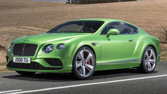 Bentley Continental GT 2015-2017