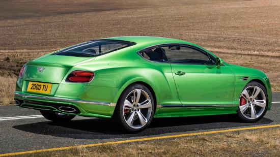 купе Бентли Континенталь GT 2-го поколения