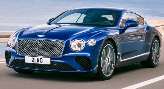 Bentley Continental GT (2020-2021) на IronHorse.ru ©
