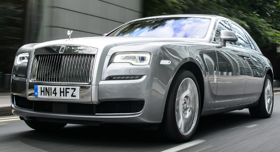 Rolls-Royce Ghost на IronHorse.ru ©