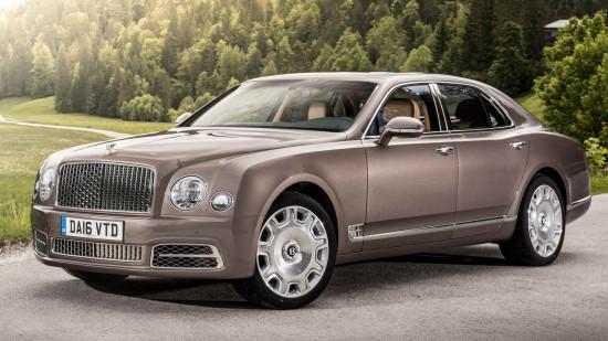 Bentley Mulsanne 2017-2018
