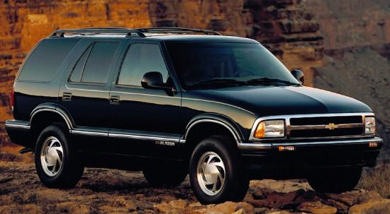 европейский Chevrolet Blazer I (1995-1998)