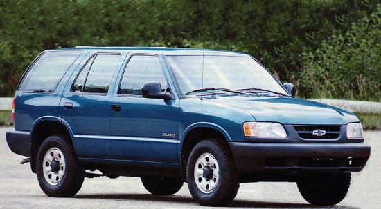 российский Chevrolet Blazer I (1996-1999)