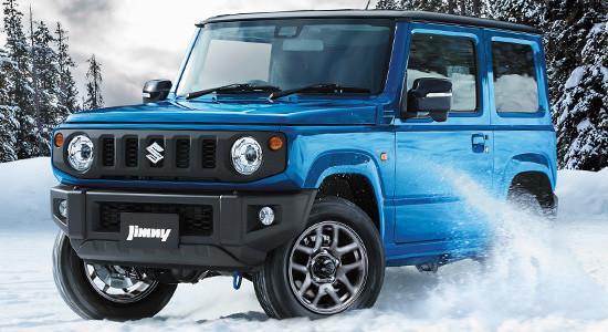 Suzuki Jimny 4 (2018-2019) на IronHorse.ru ©